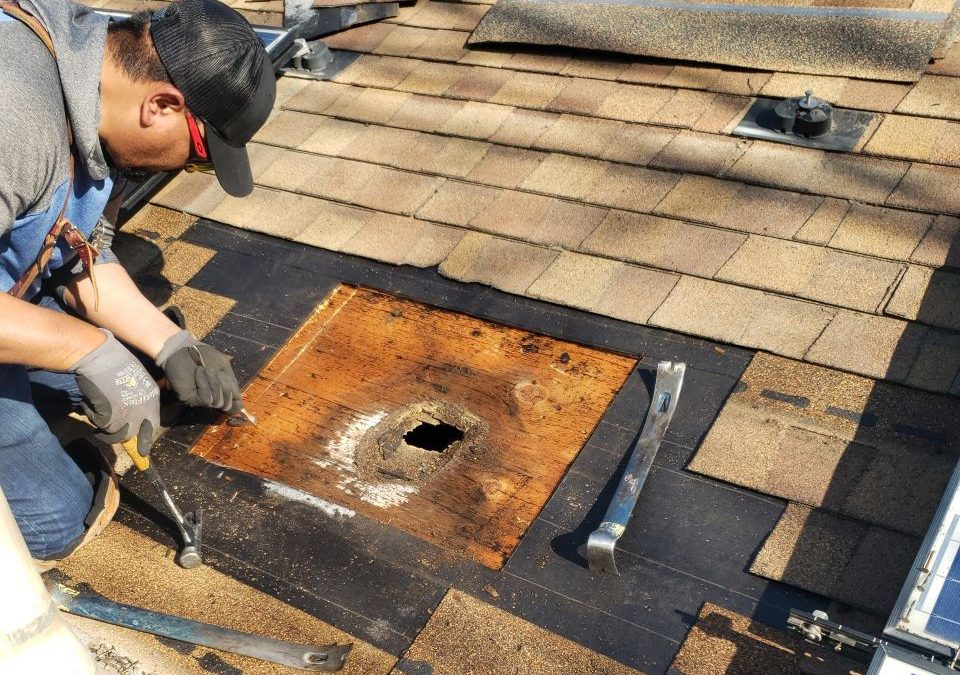 How to Fix a Hole in Your Roof